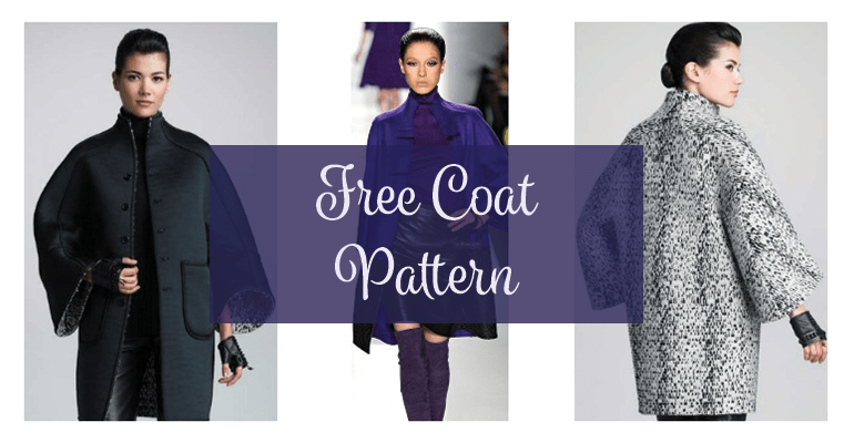 FREE Coat Pattern – Plus Size | diy hints/ideas | Pinterest | Sewing ...