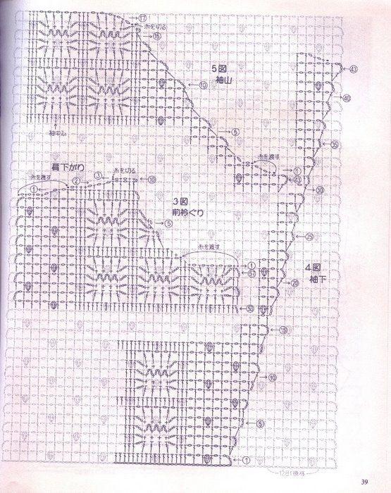 Pin de Amparo Botero en crochet | Pinterest | Remera, Gabriel y Sacos