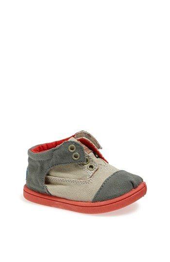 Zapatos rojos Toms infantiles LhiFIlSDa