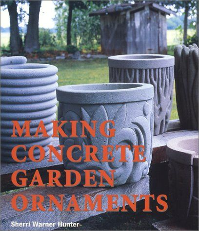Concrete planter molds and forms concrete 43 diy for Small concrete projects