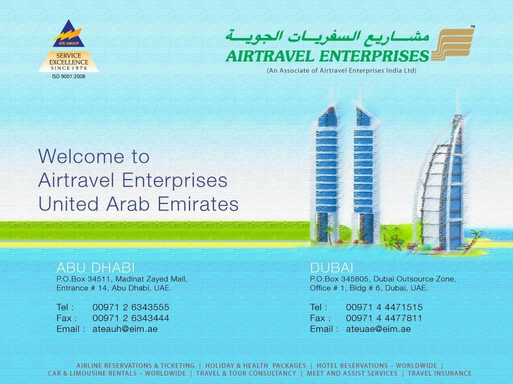 Airtravel Enterprises Travel And Tourism Company 49 Manama Street