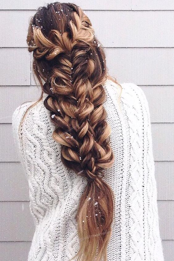 40 Adorable Braided Hairstyles You Will Love Cuded Long Hair Styles Hair Highlights Hairstyle