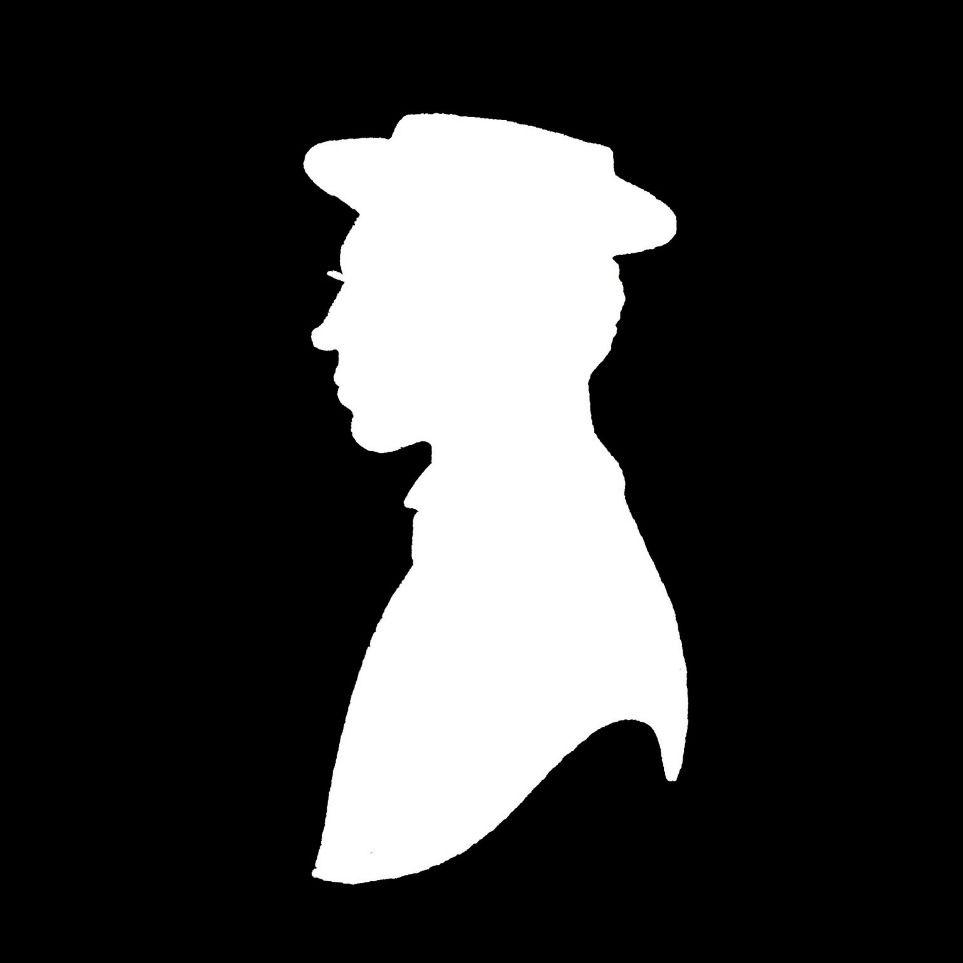Buster Keaton Silhouette Silhouette Human Silhouette I Love Coffee