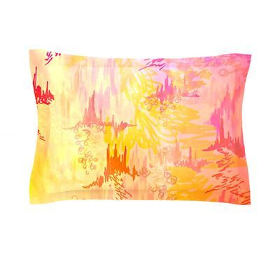 KESS InHouse Sky Risers II by Ebi Emporium Featherweight Pillow Sham Size: Queen, Fabric: Cotton
