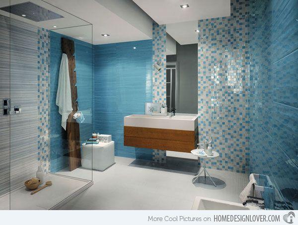 15 Creative Bathroom Tiles Ideas Home Design Lover Bathroom Interior Bathroom Decor Bathroom Interior Design