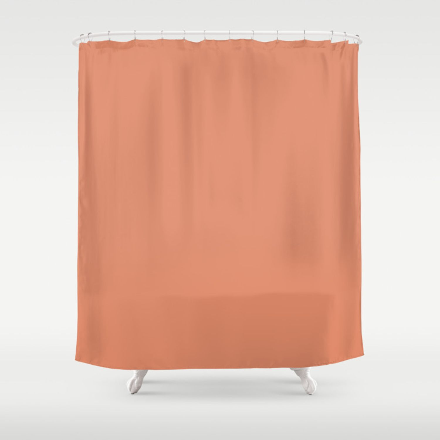 13 Brilliant Ways How To Build Salmon Colored Shower Curtain Di