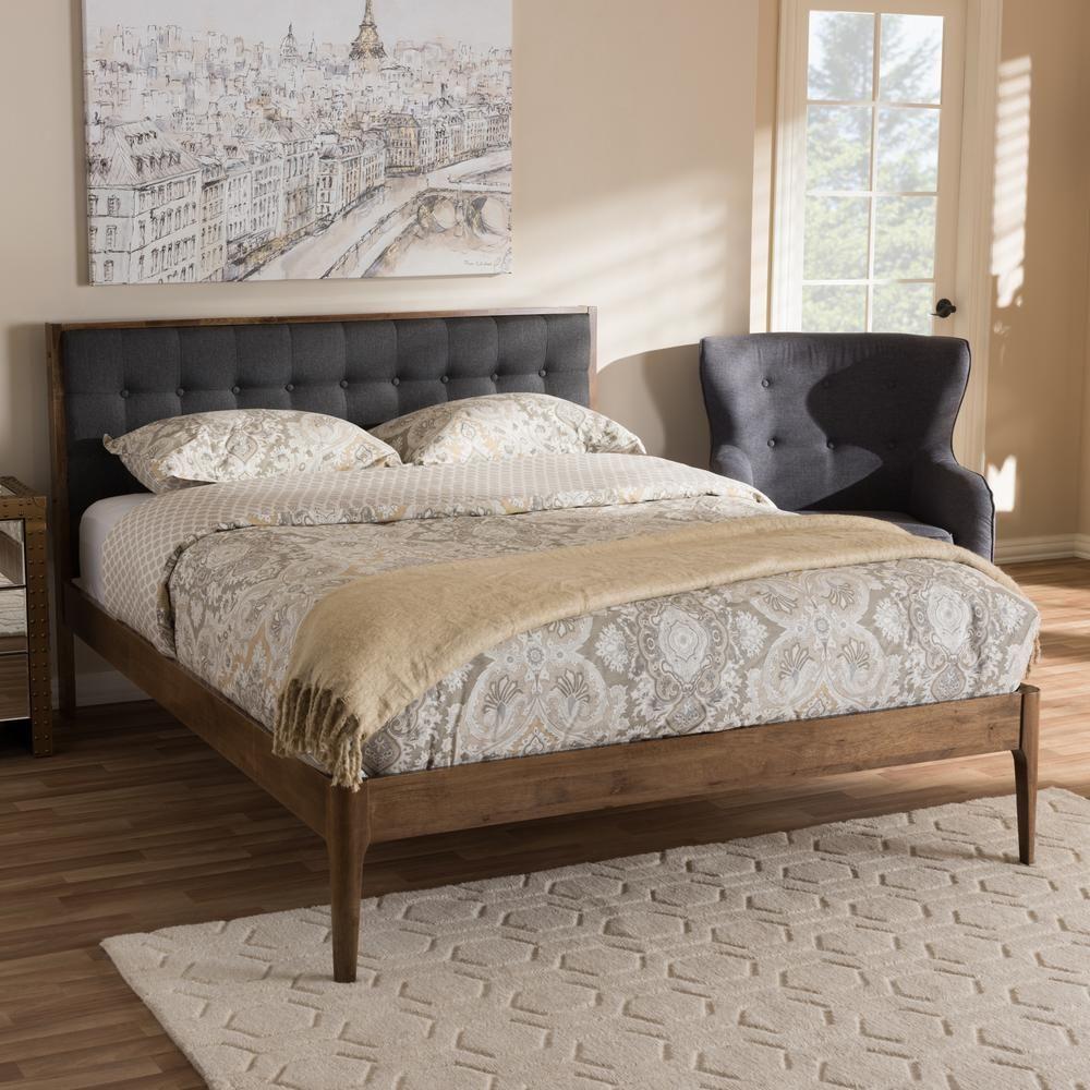 jupiter dark gray queen platform bed products