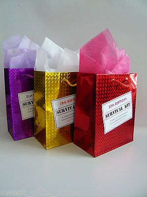 Female 30th Birthday Survival Kit Humorous Gift Idea Unusual Novelty Present View