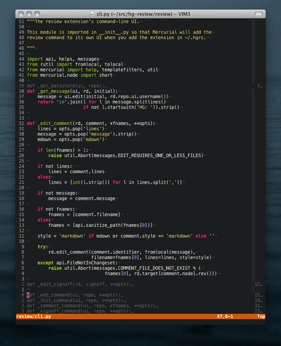 Coming Home to Vim - a nice guide to getting started with