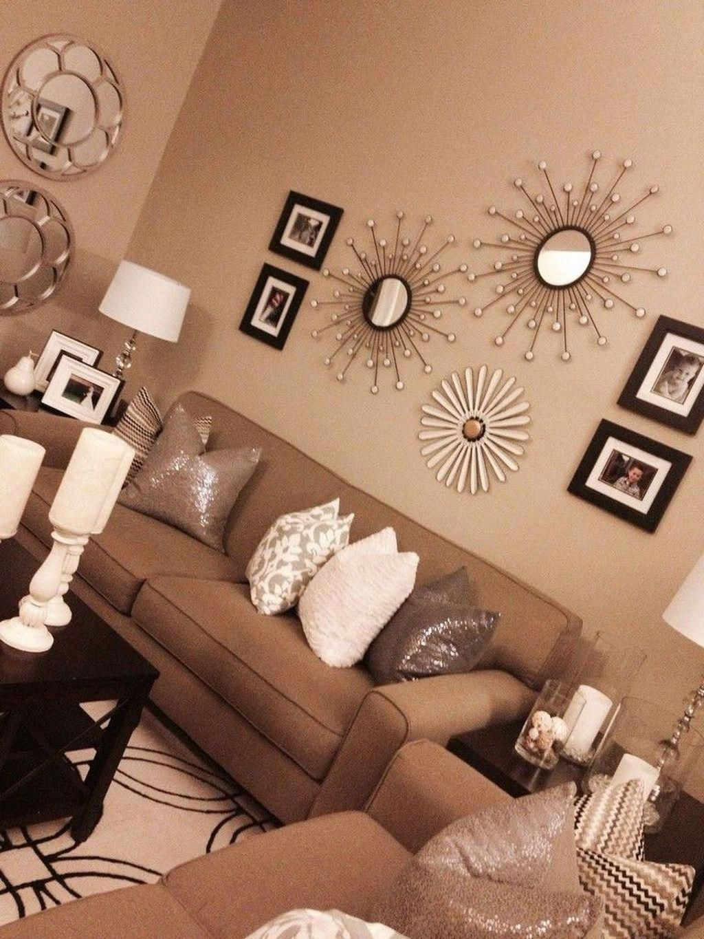 42 Beautiful Relaxing Brown And Tan Living Room Decoration I