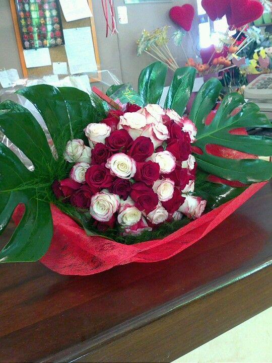 Ramo de 40 rosas para aniversario
