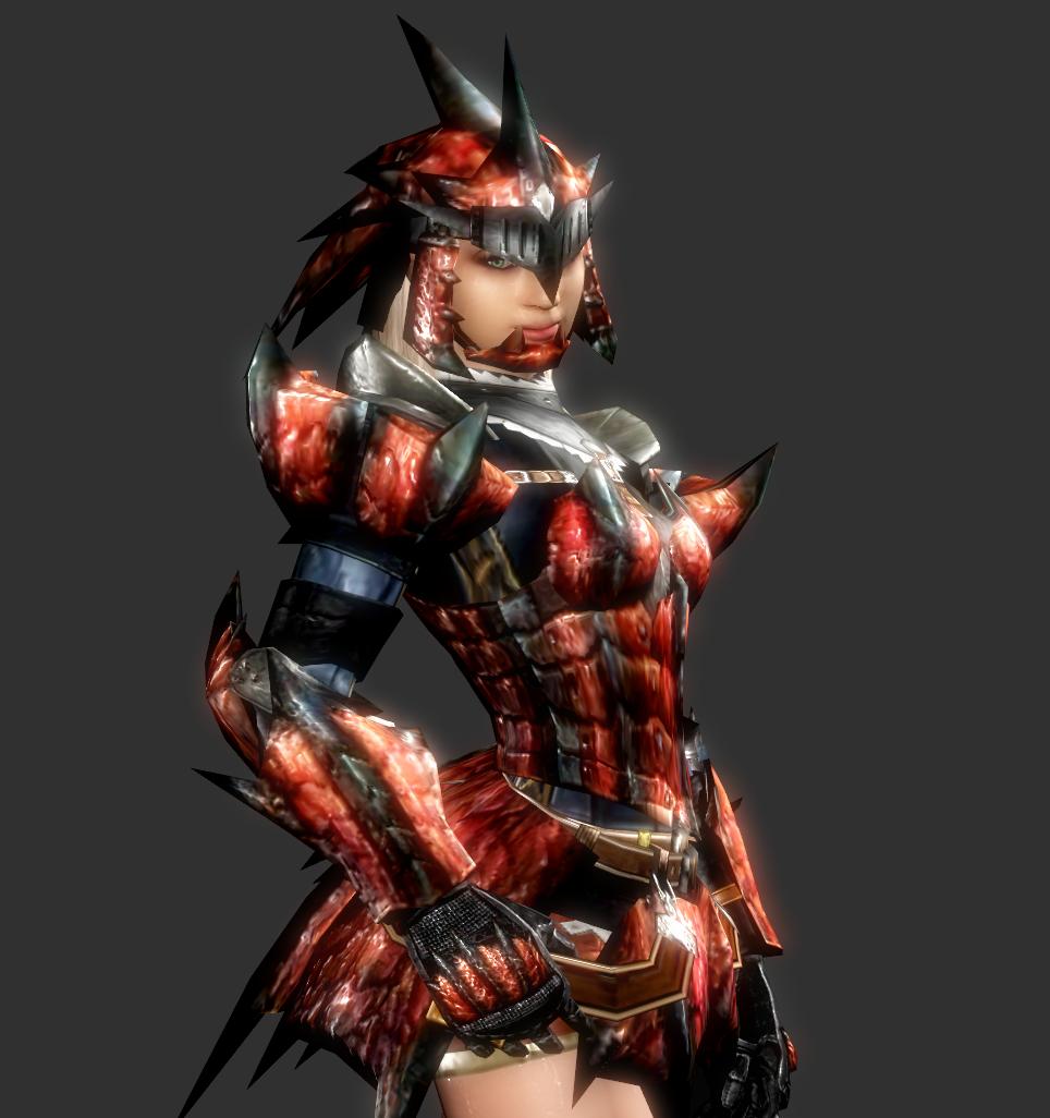 monster hunter armor female