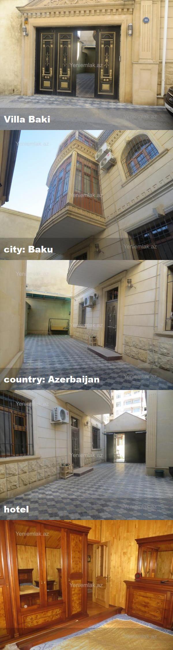 Villa Baki City Baku Country Azerbaijan Hotel Hotel Great Hotel Villa