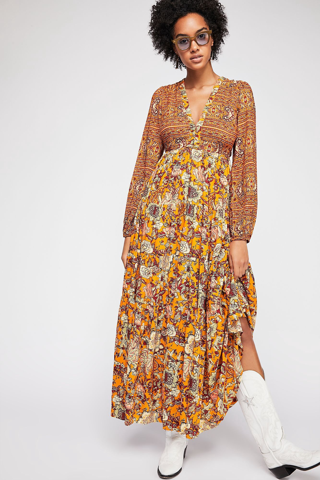 Dove long sleeve maxi dress by free people products pinterest