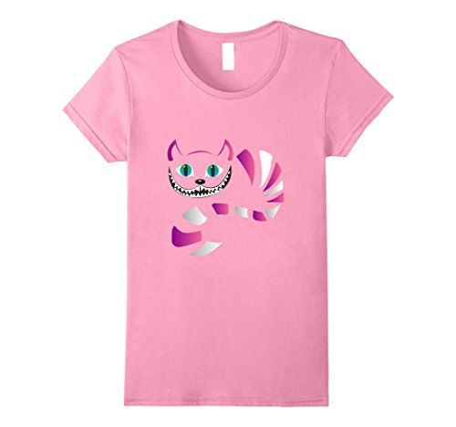 funny cat tshirts women - Womens funny cheshire faced cat - funny cats t shirt Medium Pink * Click image to review more details. (This is an affiliate link) #FunnyCats