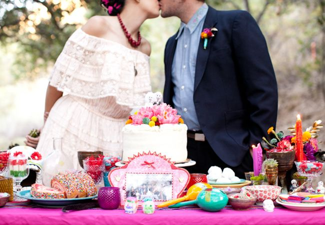 11 Wedding Ideas Inspired by Day of the Dead | Wedding vows ...