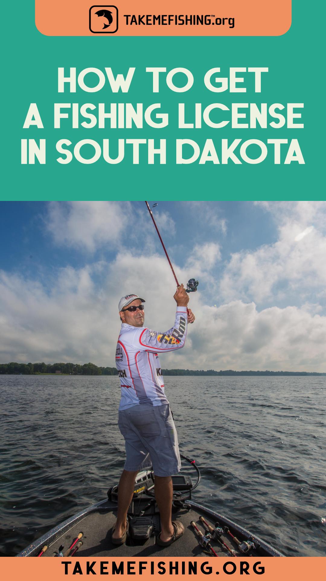 Get a Fishing License in South Dakota I Take Me Fishing in