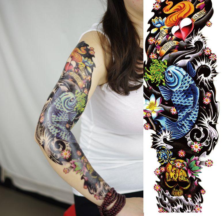 Temporary Tattoo Sleeve Fake tattoo Sleeve tattoos