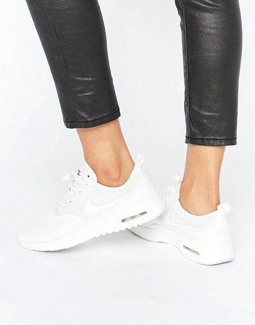 Nike Cream Air Max Thea Ultra Premium Trainers  d26dbdff0