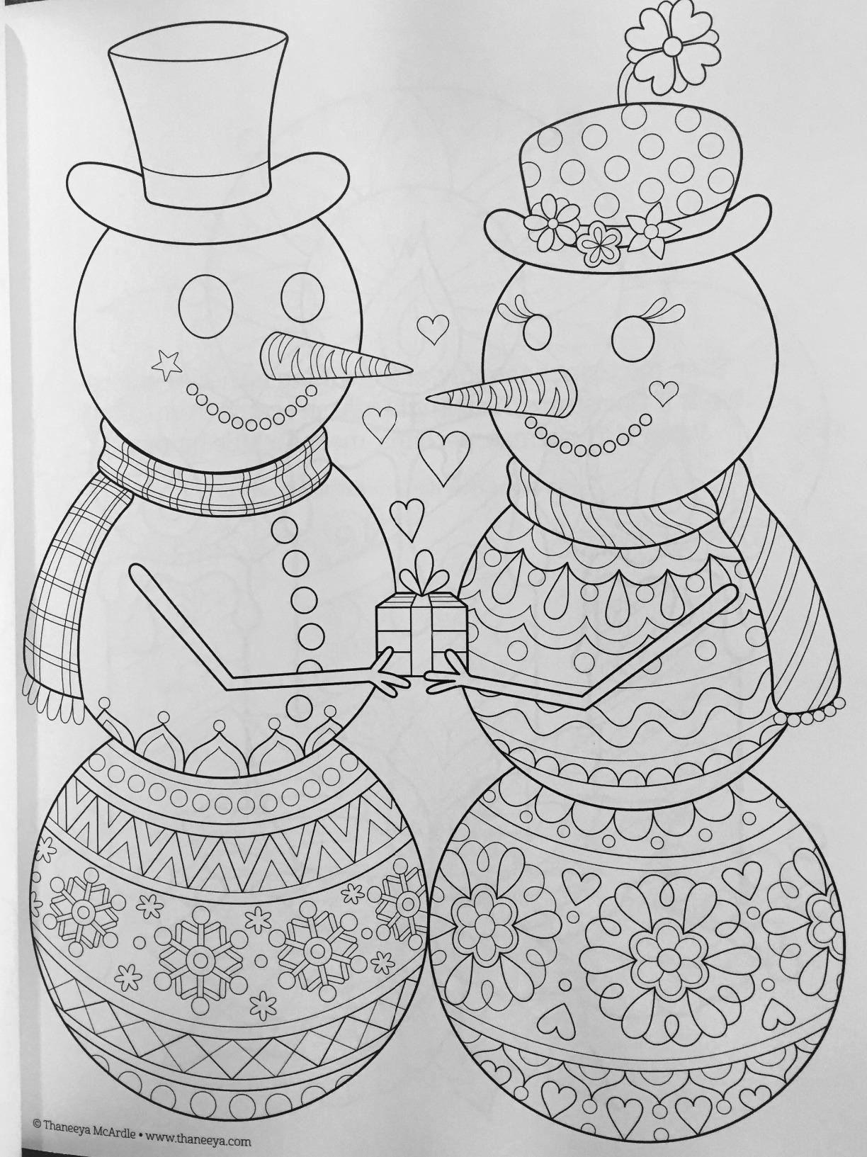 Holiday Coloring Sheets Winter In 2020 Omaľovanky Kreativne Fantazia