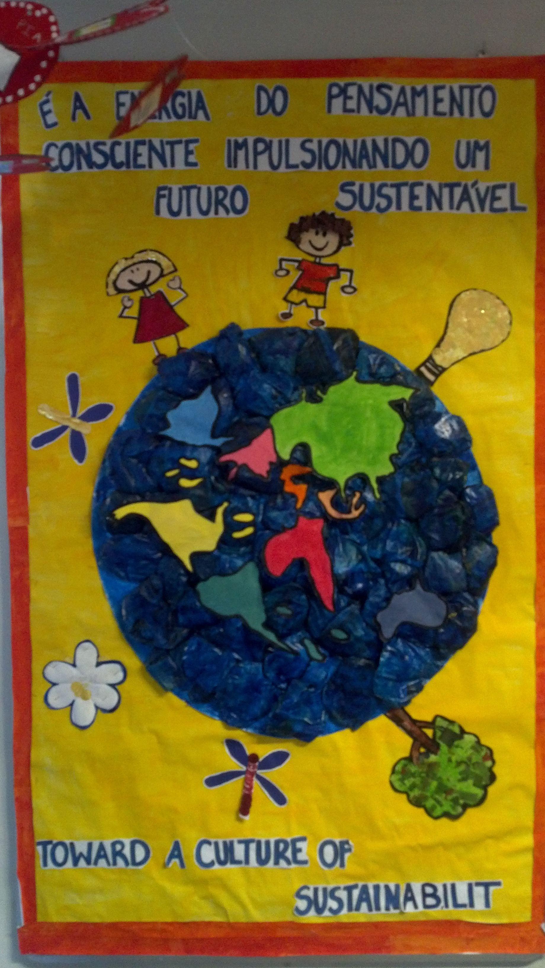 Mural Laranjeiras - Futuro Sustentável