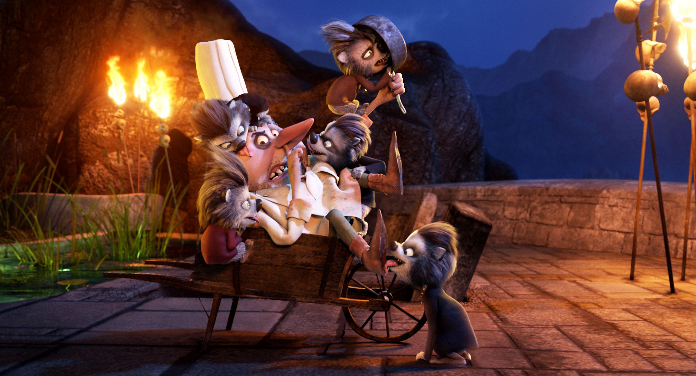 Quasimodo Jon Lovitz En De Weerwolfpuppies In Hotel