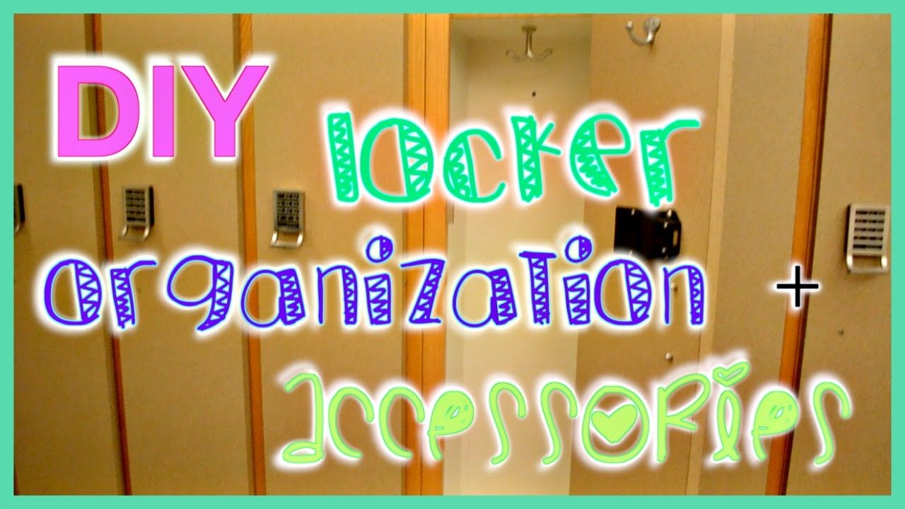 So cute! Creative and clever ideas :) DIY Locker Accessories + Organization   ItsCasual27
