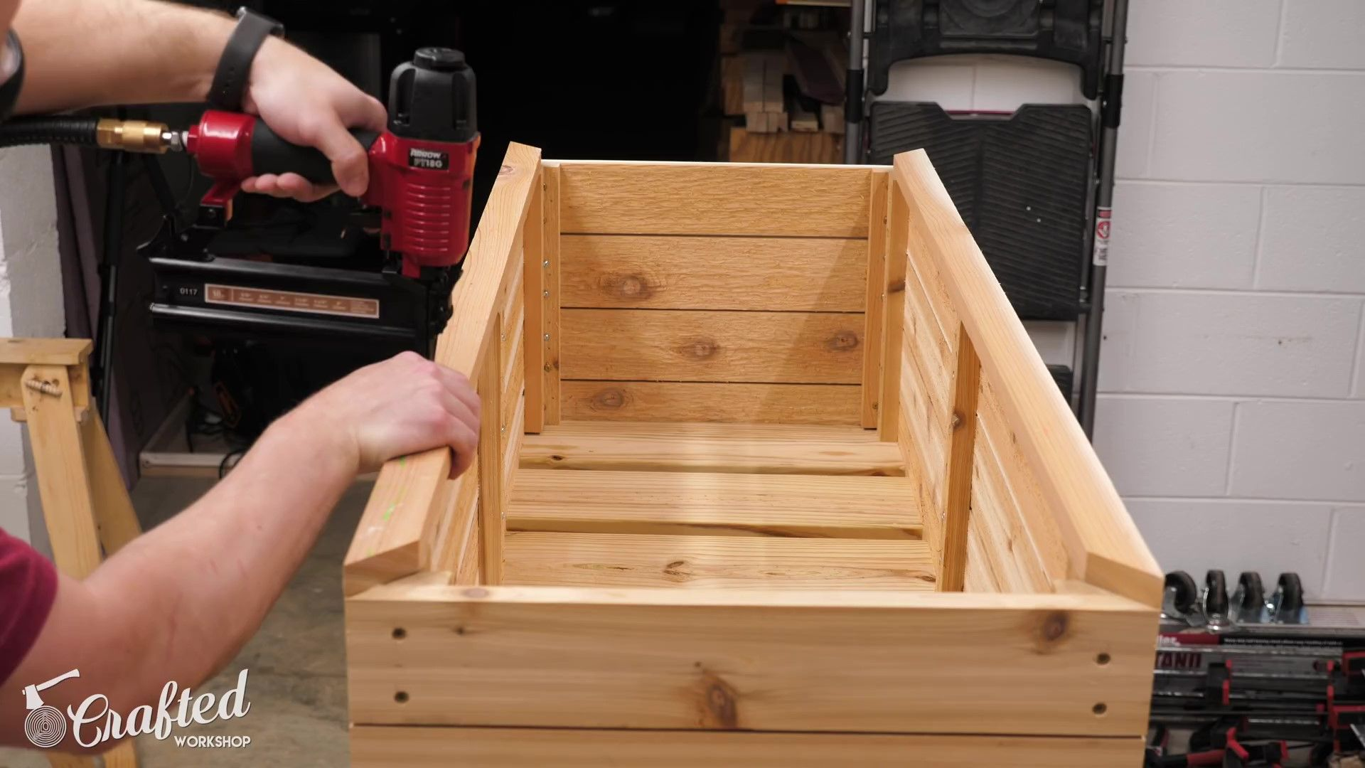 How To Build A DIY Modern Raised Planter Box (With images