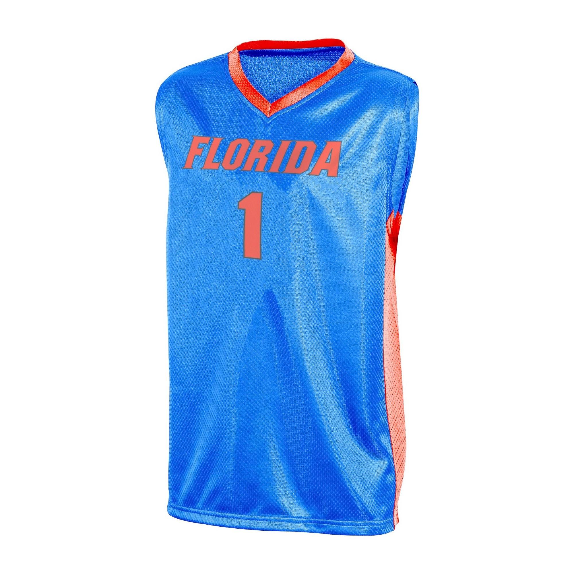 NCAA Florida Gators Boys  V-Neck Replica Basketball Jersey - XS ... dfb79e034