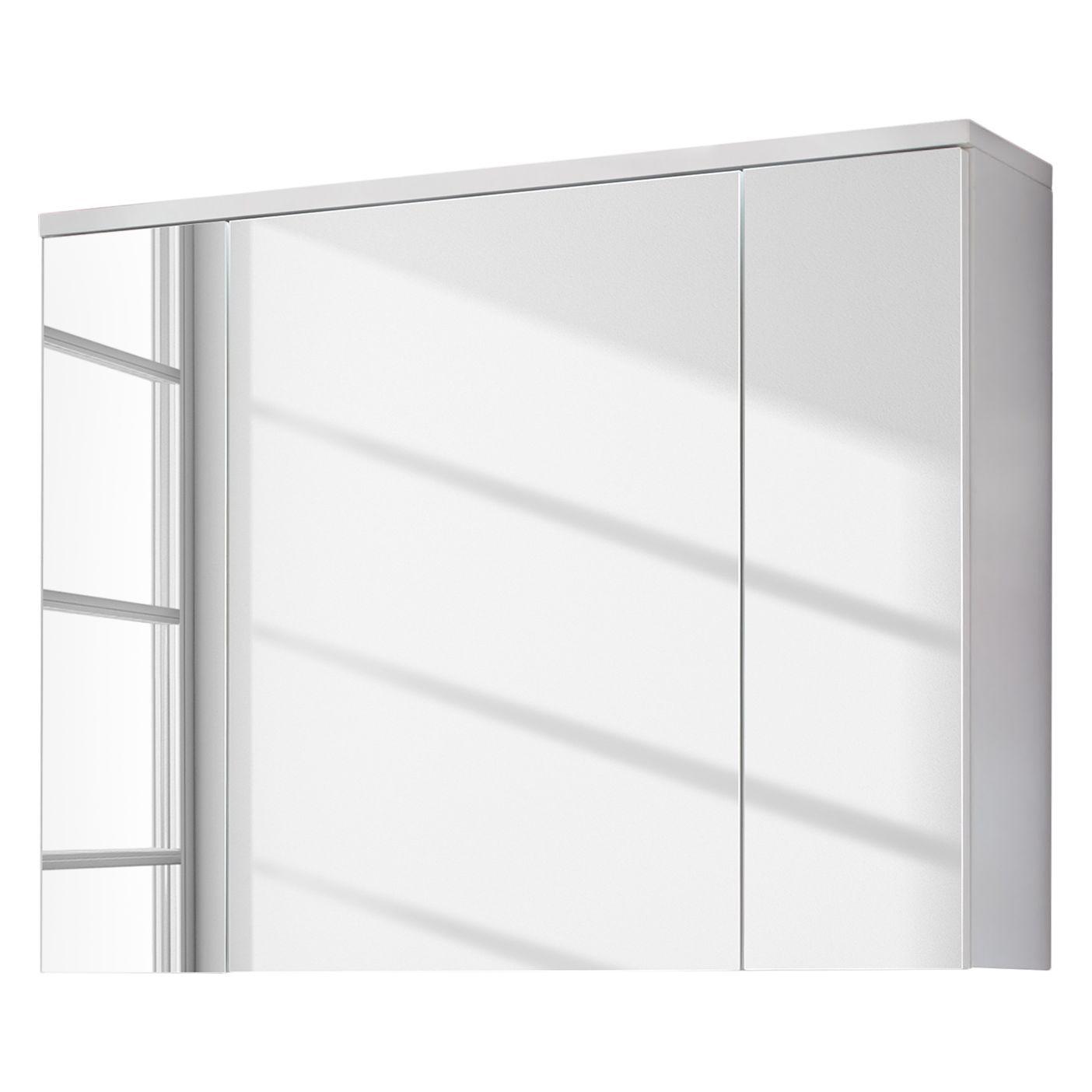 Einzigartig Spiegelschrank Ohne Beleuchtung Das Beste Von Adamo I - - Hochglanz Weiß /