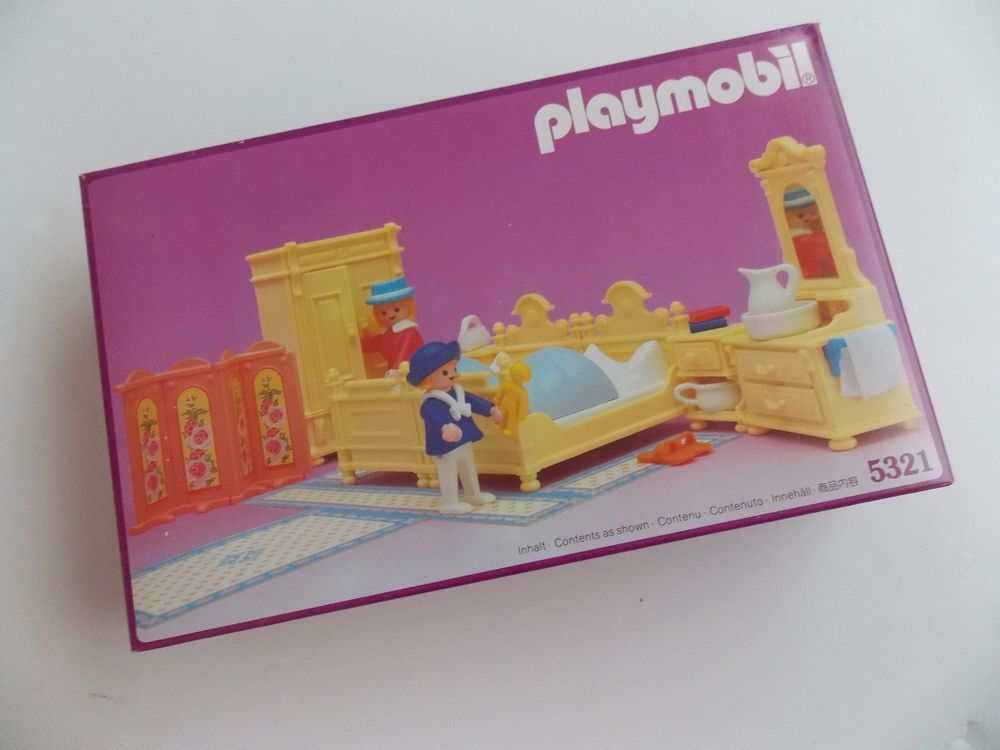 Playmobil Schlafzimmer ~ Playmobil system victorian bedroom set nisb rare vtg for