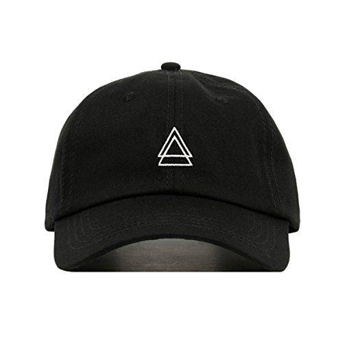 c6e02ec0c89eb faire broderie Double Triangle Baseball Hat