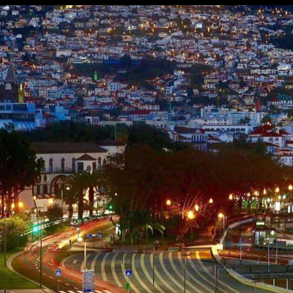 Noite cidade Funchal
