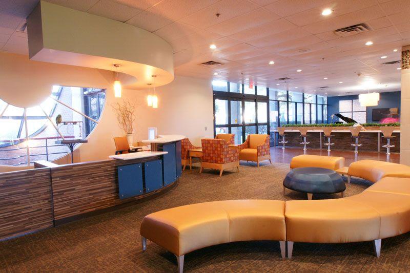 tch pavilion for women | healthcare interiors | pinterest