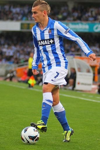 Antoine Griezmann On Real Sociedad Cr7 Messi Football Sport
