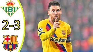 Real Betis vs Barcelona 2-3 All Goals & Extended Highlights 09/02/2020 HD    #RealBetis #Barcelona #AllGoals&ExtendedHighlights09/02/2020HD #09/02/2020HD #barcelonagoal #barcelona3goal #SergioBusquetsgoal #FrenkiedeJonggoal #messi #messigoal #ClémentLengletgoal #betisgoal #RealBetisvsBarcelona2-3AllGoals&ExtendedHighlights09/02/2020HD #RealBetisvsBarcelona2-3 #Barcelona2-3AllGoals