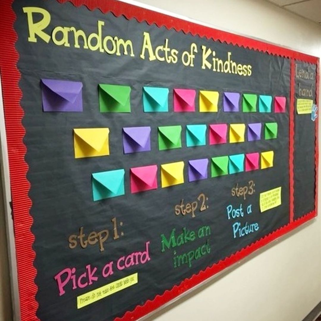10 Cute Bulletin Board Ideas High School School