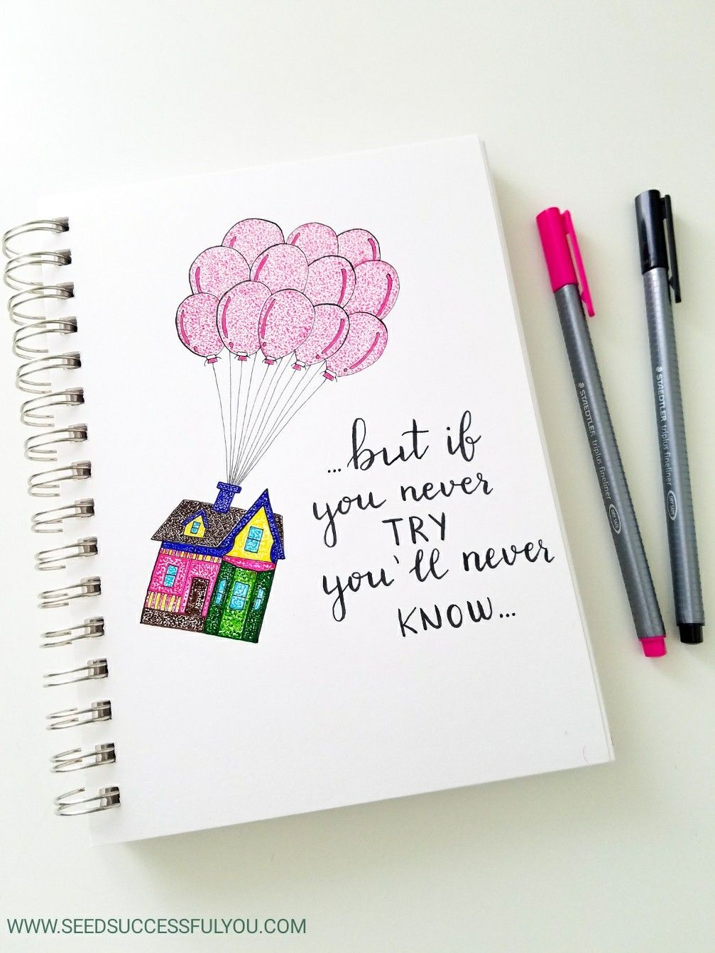 Bullet journal motivational quote.   Bullet journal quotes, Hand ...