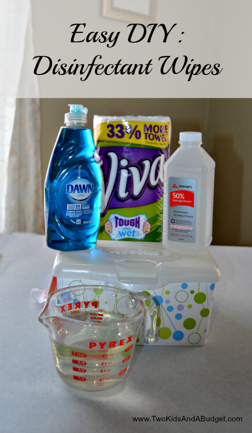 Diy Homemade Disinfectant Wipes Home Pinterest Diy Cleaning