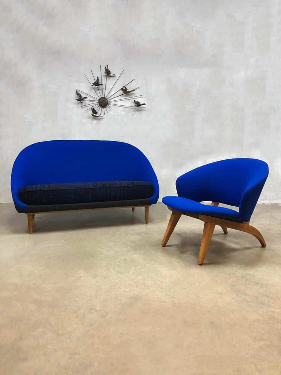 Dutch Design Bank.Vintage Dutch Design Sofa Theo Ruth Artifort Bank Model 115