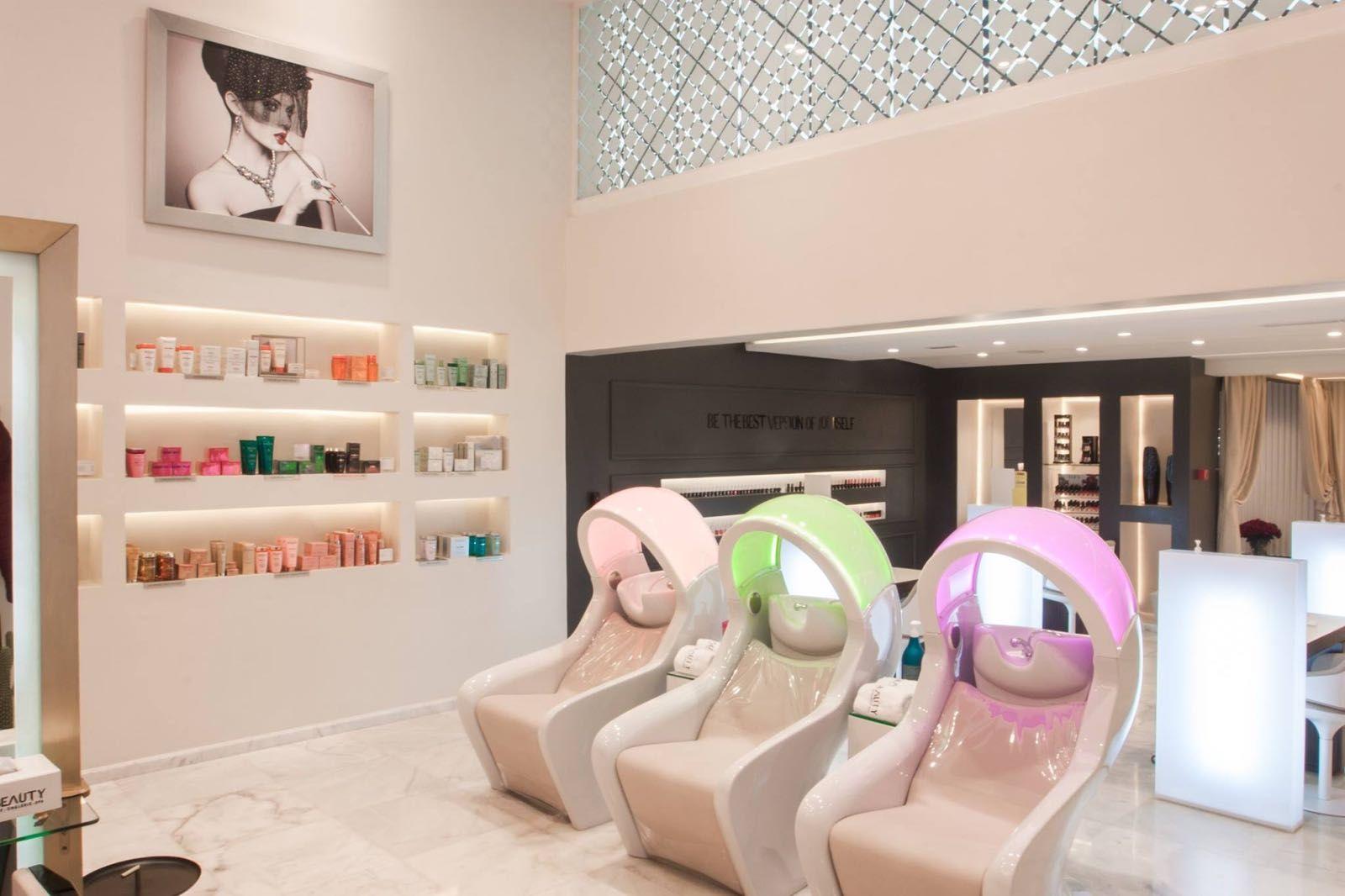 Bac A Shampooing Massant Et Luminotherapie Haut De Gamme Made In Italy Par Gamma Bross Nouveau Salon Mobilier Salon De Coiffure