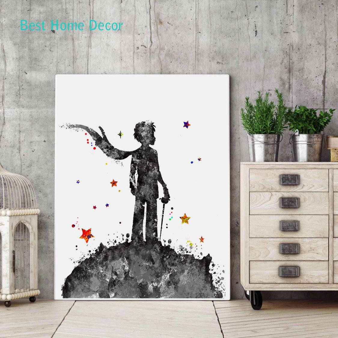 Aliexpress.com : Buy The Little Prince Poster Nursery Fine ...