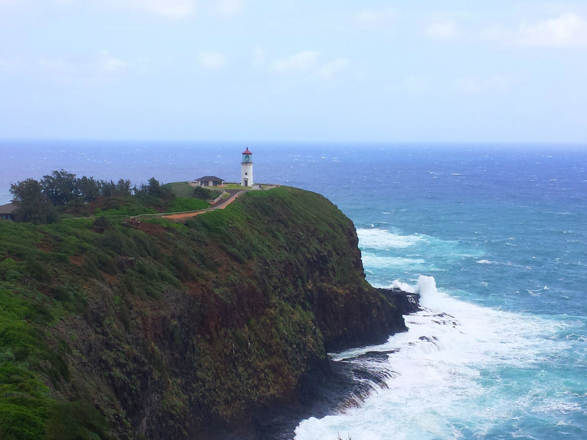 Kilauea Lighthouse in Kauai!