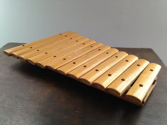 Soviet Wooden Xylophone Wooden Musical Instrument By