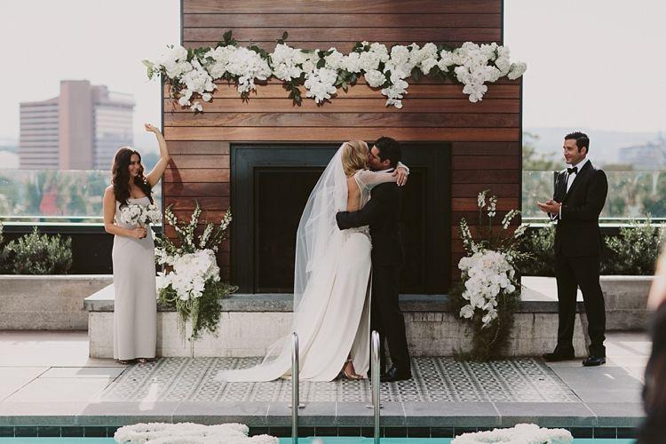 Hotel Van Zandt Austin Texas Wedding With Images Rooftop
