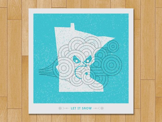Fun with states (Posters by Erik Herberg)