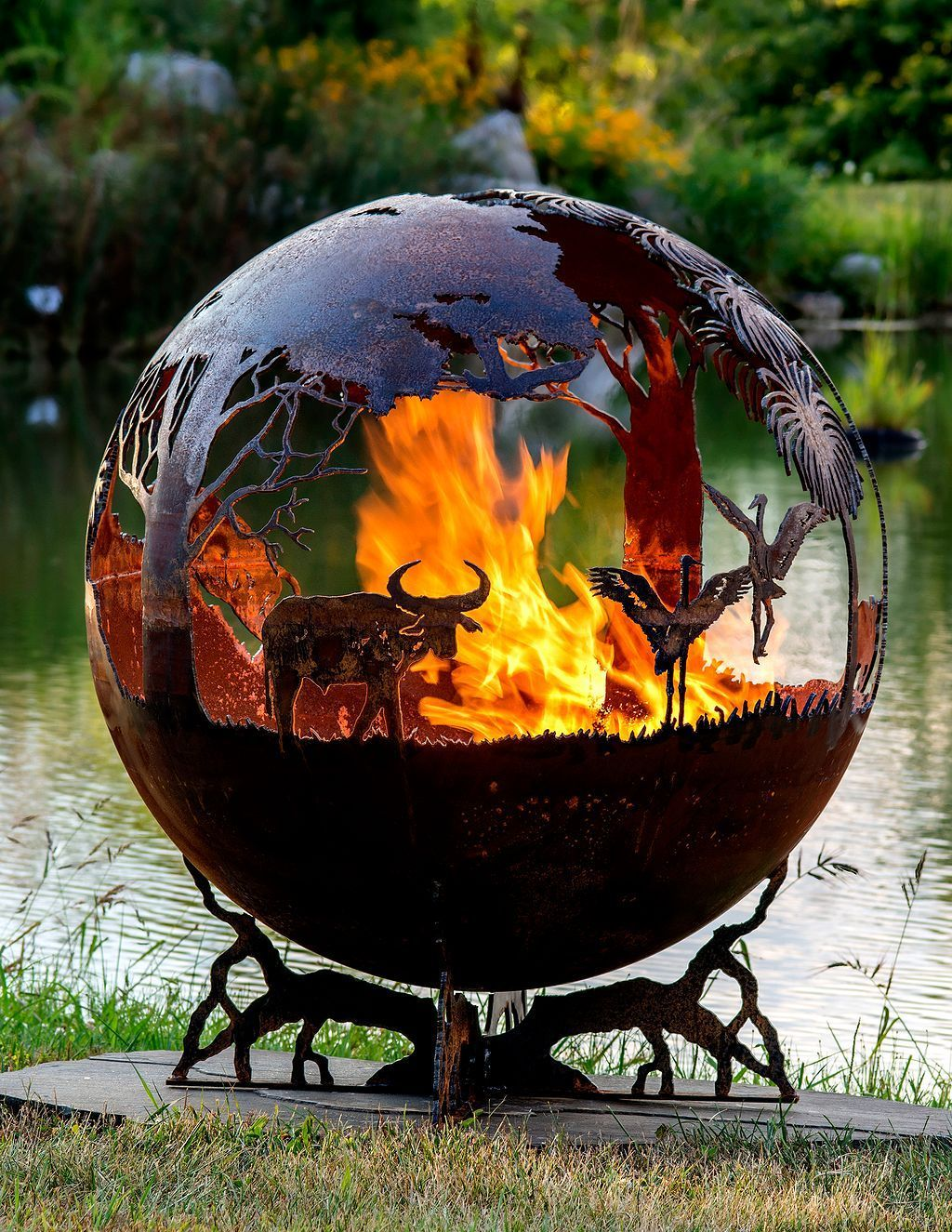 Amazing Outdoor Fire Pits Inspiration 42 Interior