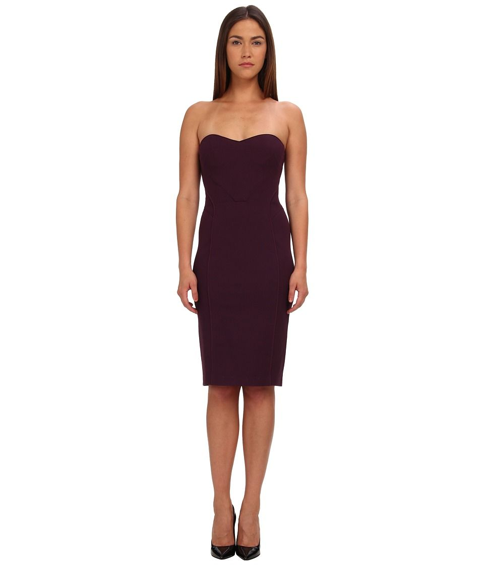 Womens Satin Fitted Cocktail Dress Zac Posen Discount Fast Delivery dMuFGI3AbA