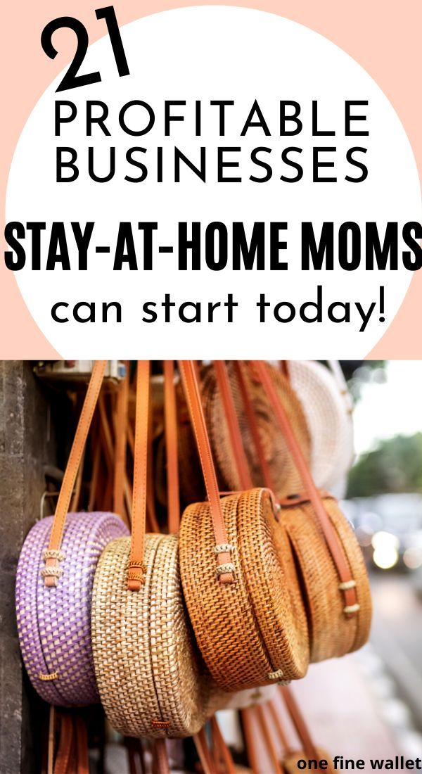 Online Business Ideas for Stay at home moms