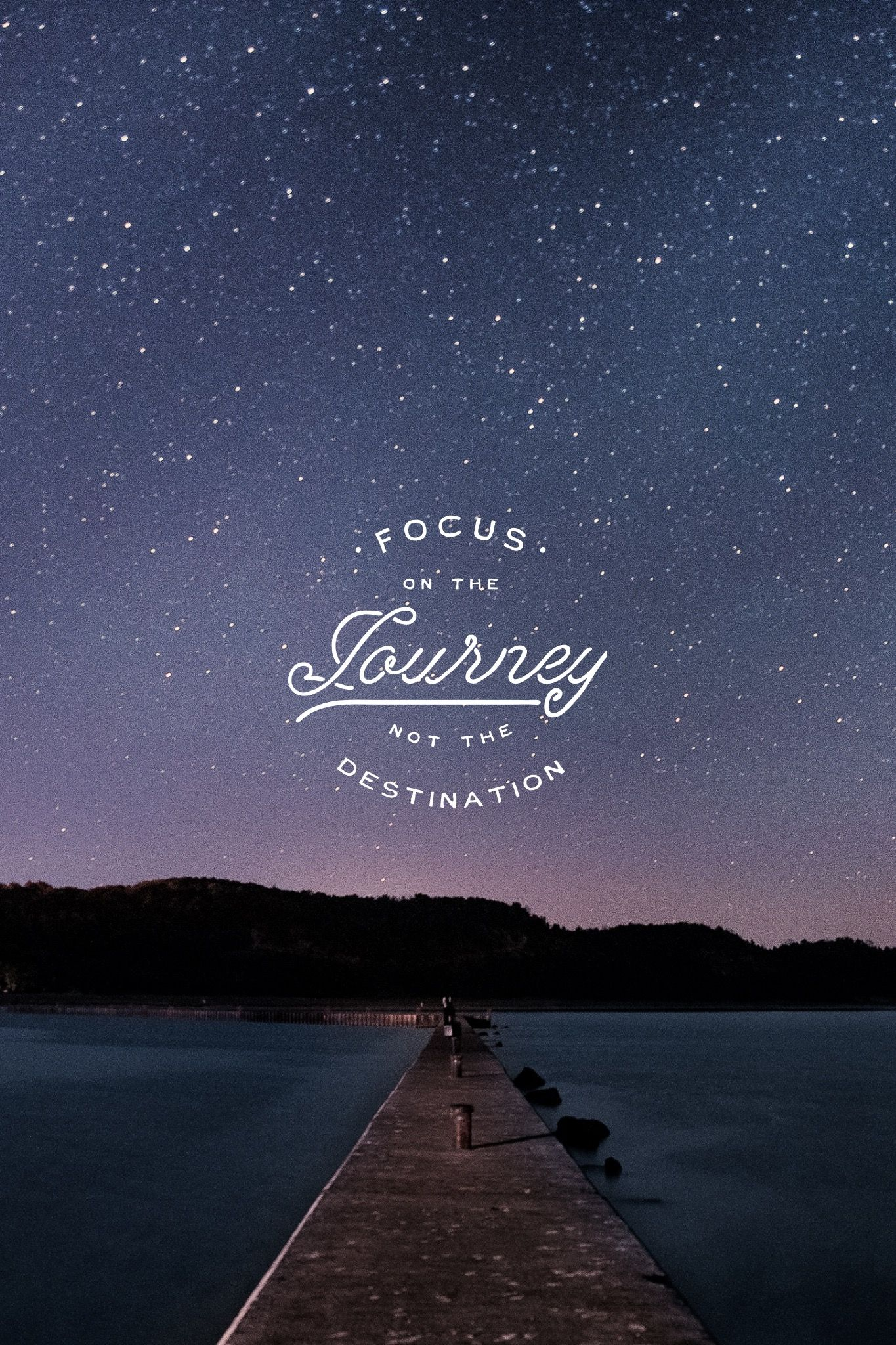 Focus On The Journey Not The Destination Madewithover